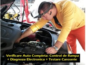 Oferta, Bucuresti, Verificare Auto Completa Control Rampa + Diagnoza Electrica + Testare Caroserie
