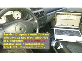 Oferta, National, Servicii Diagnoza Testare si Service Auto Renault si la Domiciliu Bucuresti / Ilfov
