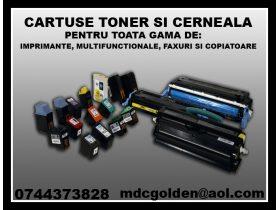 Oferta, National, Vanzare cartuse laser-toner inkjet-cerneala  ptr. imprimante, multifunctionale, copiatoare si faxuri