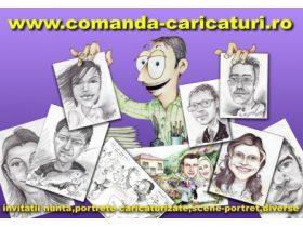 Oferta, National, Caricaturi, portrete, picturi, cadoul ideal pentru cei dragi