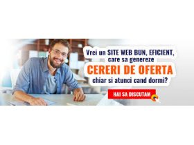 Oferta, National, Creare site web, magazin online, optimizare Seo, mentenanta, logo