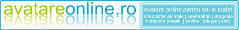 IndexAnunturi.ro - Avatare amuzante, animale, arme, barbie, caricaturi, celebritati, dragoste, horoscop, jocuri, sexy, smiles, sport, tatuaje - AvatareOnline.ro (10/8)